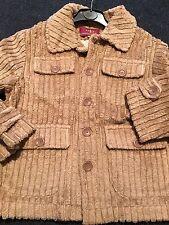 Boys Designer Jacket Biege Jumbo Cord By Rubio Kids Age 6 Spanish