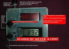 GEOelectronics GEO-500-1G-BL Geiger Counter PULSER+ 1G Ohm High Voltage meter