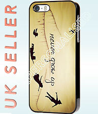 Disney Peter Pan Quote Never Grow Up Hard Phone Case Cover for Iphone & Samsung