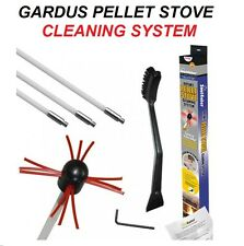 GARDUS SootEater Rotary Pellet Stove Cleaning System #RPS204 FREE USA SHIPPING!