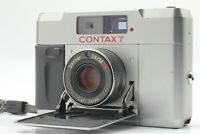 """""""Near Mint+++"""" CONTAX T Silver 35mm Rangeginder Compact Film Camera From JAPAN"""