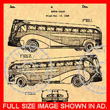 Greyhound Bus US Patent (A) - Raymond Loewy #056
