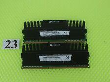 Corsair Vengeance 4GB (2x2GB)240-Pin DDR3 1600 (PC3 12800) CMZ4GX3M2A1600C9