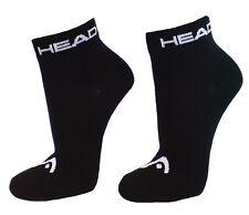 9 Paar SPARPACK Unisex HEAD Quarter 1/4 Schaft Sneaker Socken Invisible Schwarz