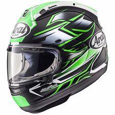 Arai RX-7V Ghost Green Helmet Size M