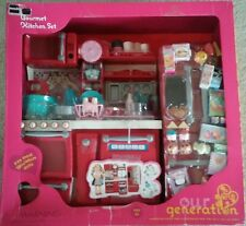 Our Generation Gourmet Kitchen Set~new in box