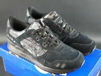 ASICS GEL LYTE III BLACK / BLACK BOREALIS PACK SIZE UK 7 EU 40.5 OG DS TRAINERS