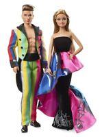 Mattel Barbie drw81 Moschino – Barbie y Ken Gift Set,muñeca para coleccionar