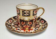 AYNSLEY IMARI Espresso DEMITASSE CUP & SAUCER GOLD # 5500 Rare Royal Crown Derby