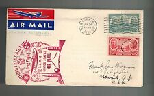 1939 New York Shediac Northern Trans-Atlantic First Flight FAM 18 Airmail Cover