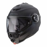 CASCO DA MOTO MODULARE APRIBILE CABERG DROID 2019 NERO OPACO TAGLIA XL