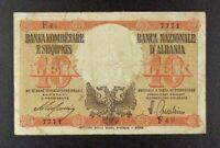 ND (1940) Italian-Occupied Albania 10 Lek Banknote, P-11.