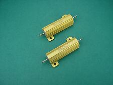 2 x 910 Ohm 50w Non-Inductive Power resistors - > 300b TUBE AMP AMPLIFICATORE Tubi