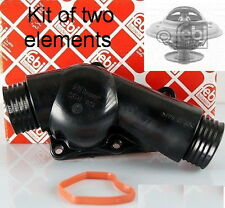 Thermostat Housing FEBI for BMW 3 (E36) + Febi thermostat set of two elements