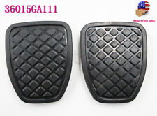 GENUINE OEM 2PCS BRAKE & CLUTCH PEDAL PAD RUBBER COVER FOR SUBARU FORESTER MT