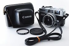 Canon Canonet QL17 GIII G3 Rangefinder Silver [Excellent] w/Case from JAPAN