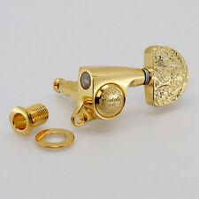 NEW GOTOH SGS510Z-A20LX Luxury Mode L3+R3 3x3 Mini Tuners Keys 1:18 Ratio - GOLD