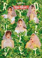 Red Velvet SAPPY First Limited Edition CD Booklet Card Box Japan From japan