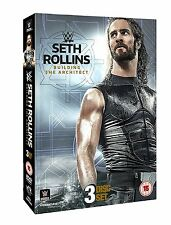 WWE (Wrestling) SETH ROLLINS Building the Architect BOX 3 DVD in Inglese NEW .cp