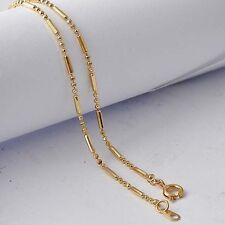 Womens beads collar necklace yellow gold filled fashion jewelry free shipping