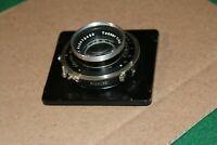 Vintage Carl Zeiss Jena Tessar 1:4.5 f=15cm Lens w/ F.Deckel-Munchen Compur shut
