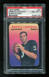 Oakland Raiders Daryle Lamonica  1983 Custom Handmade Card Blank Back