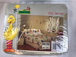 Vintage Sesame Street Full Bed Set - Pls Read Description