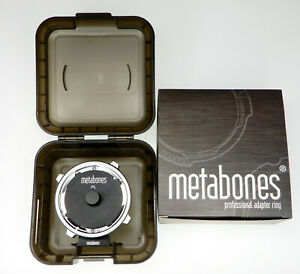 Metabones PL mount to M4/3 adapter  #A3321010286  ............ MINT