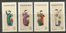 STAMPS-NORTH VIETNAM. 1961. 3rd Writers & Artists Congress Set. SG: N189/92