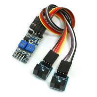 2-Channel Slotted Optical Switch Speed Detect Velocity Sensor Module B6P6