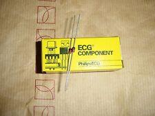 ECG5015A 7.5VOLT 1/2WATT ZENER DIODES REPL NTE5015A 2/PKG