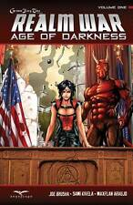 REALM WAR: AGE OF DARKNESS VOL #1 TPB Grimm Fairy Tales Zenescope Comics #1-6 TP