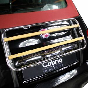 Fijaciones 06 M-forma de aluminio Baca Barras cruzadas rail para caber Fiat 500 X 2015 />