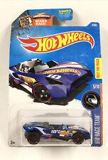 Hot Wheels 2015 HW Race Team Carbonic Blue Vehicle 5/10 Best for Track Car NIP