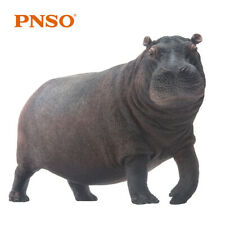 PNSO Africa Hippopotamus Model Hippo Animal Figure Decor Collector Kid Gift Toy