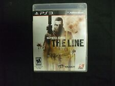 Replacement Case (NO GAME) SPEC OPS THE LINE PLAYSTATION 3 PS3