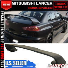 08-17 Mitsubishi Lancer Only X Original EVO Style Rear Trunk Spoiler ABS 3PC