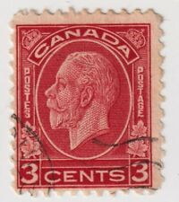 1932-1933 Canada - King George V - 3 Cent Stamp