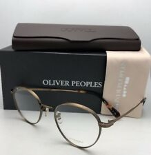 New OLIVER PEOPLES Eyeglasses WATTS OV 1224T 5124 49-21 Titanium Antique Gold