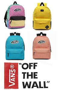 VANS Old Skool II Rucksacks Black White Backpack Schoolbag Work Laptop Bag New