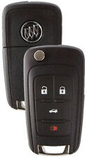 NEW Buick GM OEM  Switchblade Flip Key 4 Button Remote 13504283 5912558 LOGO
