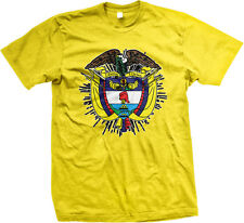 Coat of Arms Colombian Pride República de Colombia Bogotá Mens T-shirt