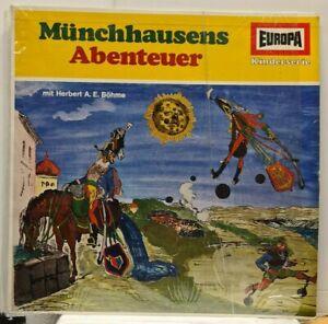 LP Münchhausens Abenteuer - mit Herbert A. E. Böhme - EUROPA E 211