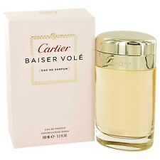 Cartier Baiser Vole For Women 3.3 oz Eau de Parfum Spray New In Box Sealed