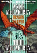 Anne & Todd McCAFFREY / DRAGON HARPER (Dragonriders of Pern)   [ Audiobook ]