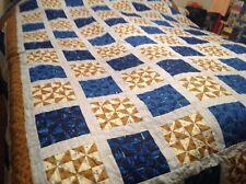 California King Small Pinwheel Squares Quilt