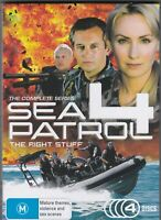Sea Patrol 4 = Complete Series = The Right Stuff (DVD :4 DISC)  Rare OOP