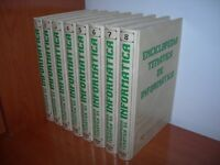ENCICLOPEDIA TEMÁTICA DE INFORMÁTICA - 8 TOMOS COMPLETA MAVECO DE EDICIONES 1990
