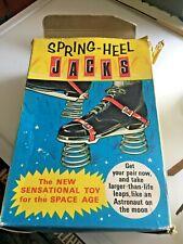 HJ1 Rare Boxed Vintage Spring Heel Jacks by Mettoy R250 N & R Green Box tatty