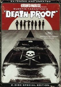 GRINDHOUSE: DEATH PROOF (2PC) (EXTENDED) (WS) NEW DVD